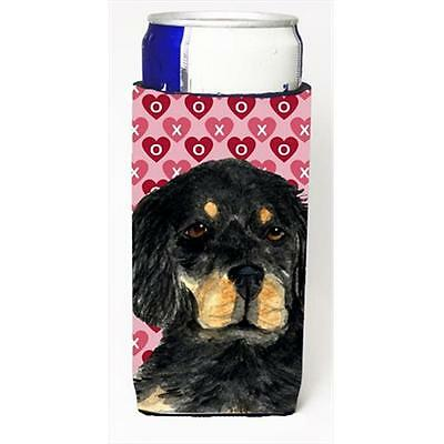 Gordon Setter Hearts Love And Valentines Day Portrait Michelob Ultra bottle s...