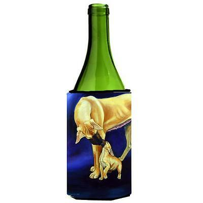 Carolines Treasures Great Dane And Puppy Wine bottle sleeve Hugger 24 oz.