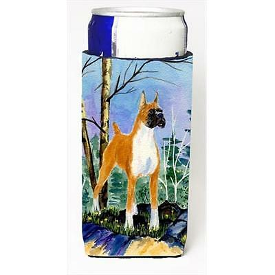 Carolines Treasures SS8650MUK Boxer Michelob Ultra bottle sleeves For Slim Cans