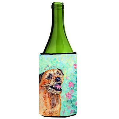 Carolines Treasures 7228LITERK Border Terrier Wine bottle sleeve Hugger • AUD 48.26