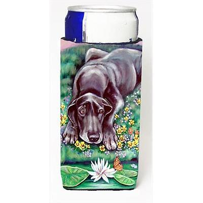 Carolines Treasures Blue Great Dane Michelob Ultra bottle sleeves For Slim Cans