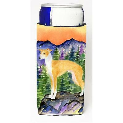 Italian Greyhound Michelob Ultra bottle sleeves for slim cans 12 oz.