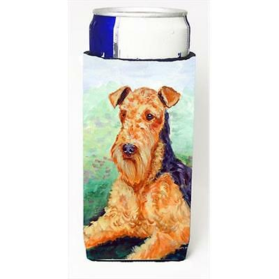 Carolines Treasures Airedale Terrier Michelob Ultra bottle sleeves For Slim Cans