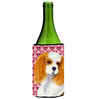 Cavalier Spaniel Hearts Love And Valentines Day Wine bottle sleeve Hugger