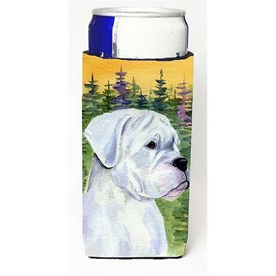 Carolines Treasures SS8198MUK Boxer Michelob Ultra bottle sleeve for Slim Can