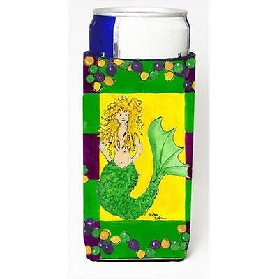 Mardi Gras Mermaid Michelob Ultra bottle sleeves For Slim Cans 12 Oz.