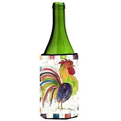 Carolines Treasures 8071LITERK Rooster Wine bottle sleeve Hugger 24 Oz.