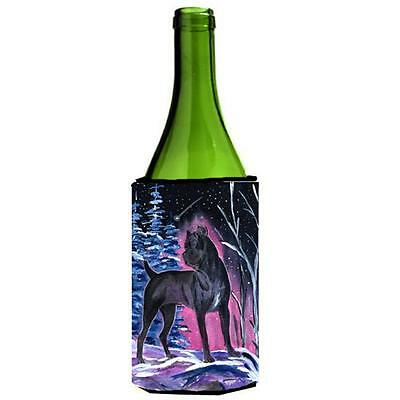Carolines Treasures Starry Night Cane Corso Wine bottle sleeve Hugger