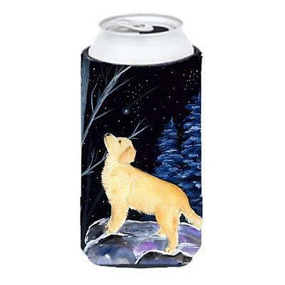 Carolines Treasures Starry Night Golden Retriever Tall Boy bottle sleeve Hugger