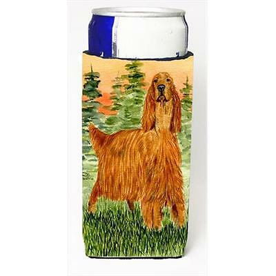 Carolines Treasures Irish Setter Michelob Ultra bottle sleeves For Slim Cans