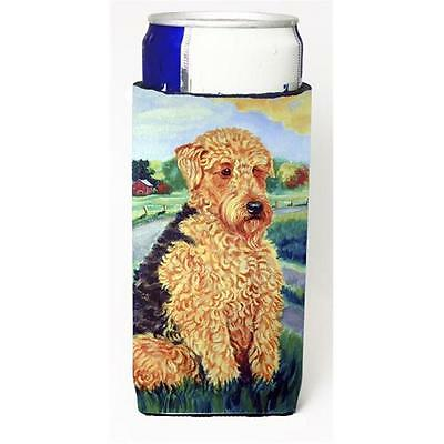 Airedale Terrier Michelob Ultra bottle sleeves For Slim Cans 12 oz.