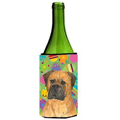 Bullmastiff Easter Eggtravaganza Wine bottle sleeve Hugger 24 Oz.