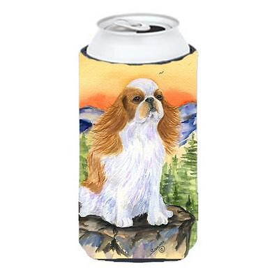 English Toy Spaniel Tall Boy bottle sleeve Hugger 22 To 24 oz.