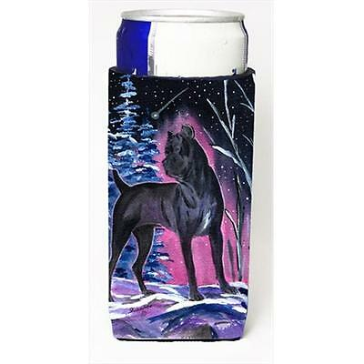 Starry Night Cane Corso Michelob Ultra bottle sleeves For Slim Cans