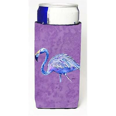 Flamingo On Purple Michelob Ultra bottle sleeves For Slim Cans 12 oz.