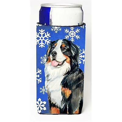 Bernese Mountain Dog Winter Snowflakes Holiday Michelob Ultra bottle sleeves ...