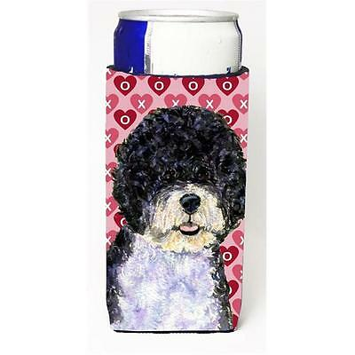 Portuguese Water Dog Hearts Love Valentines Day Michelob Ultra bottle sleeves...