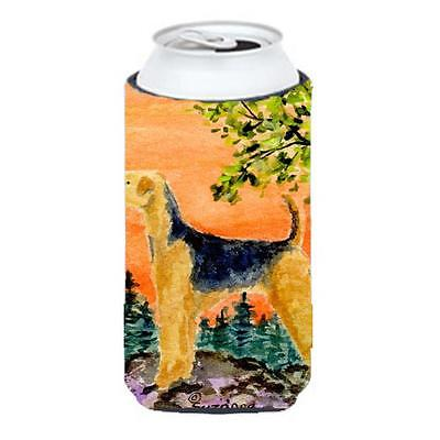 Carolines Treasures Airedale Tall Boy bottle sleeve Hugger 22 To 24 Oz.