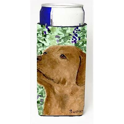 Chocolate Labrador Michelob Ultra bottle sleeves For Slim Cans 12 Oz.