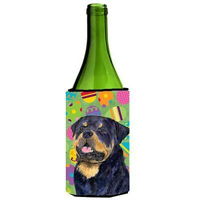 Rottweiler Easter Eggtravaganza Wine bottle sleeve Hugger 24 Oz.