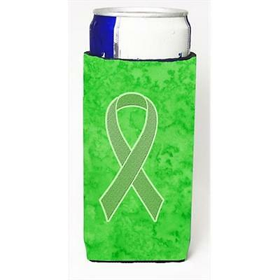 Lime Green Ribbon for Lymphoma Cancer Awareness Michelob Ultra bottle sleeves...