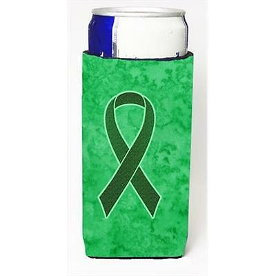 Emerald Green Ribbon for Liver Cancer Awareness Michelob Ultra bottle sleeves...
