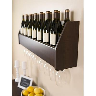 Prepac ESOW-0200-1 Floating Wine Rack in Espresso