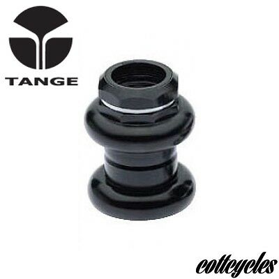 "TANGE PASSAGE 1"" THREADED BLACK STEEL HEADSET New In Box"