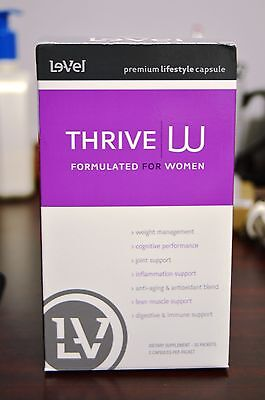 Le-Vel Thrive Women Vitamins 30-Day Supply - 60 Capsules Pack