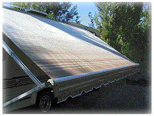 10' RV AWNING REPLACEMENT FABRIC KIT  A&E Dometic Carefree & othersFREE SHIPPING