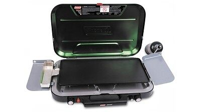 Coleman EvenTemp Gas Stove with Griddle Sturdy and Durable Design for Outdoors