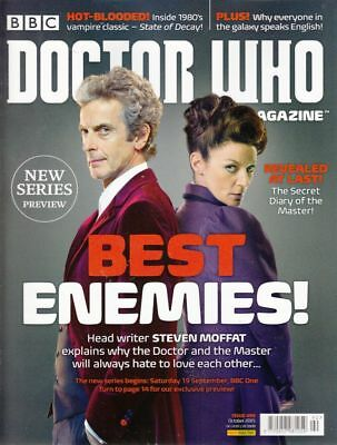Doctor Who Magazine #490 October 2015