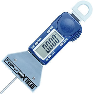 "Digital Snap Depth Gage 0.0005"" INCH-METRIC-FRACTION Tire Thread Depth Gage"