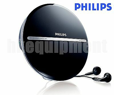 Philips EXP2546 LCD Display Portable MP3/CD Player Discman with Headphones