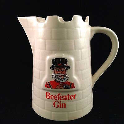 "Beefeater Gin / Water Pitcher ""pub Jug"" Bar Advertising"
