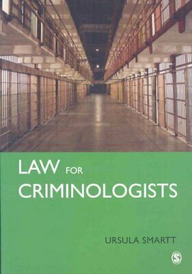 Law for Criminologists: A Practical Guide by Ursula Smartt (Paperback, 2008)