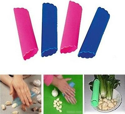 HOT Magic Silicone Garlic Peeler Peel Easy Useful Kitchen Cooking Tools Gadgets