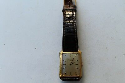 Antique Vintage Old Swiss Made Longines Hand Winding Gold Plated Wrist Watch.
