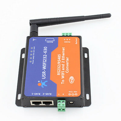 USR-WIFI232-630 RS232/ RS485 to Wifi Server Serial Ethernet Converter Modbus TCP