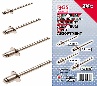 Blind Rivets Assortment 400tg Set Box Poppnieten
