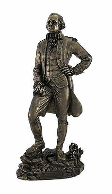President George Washington Statue Founding Father Sculpture Figure HOME DECOR