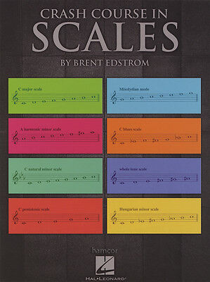 Crash Course in Scales Sheet Music Book by Brent Edstrom