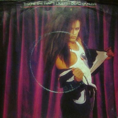 """Dead Or Alive(7"""" Vinyl P/S)That&'s The Way I Like It-Epic-A 4271-UK-VG-/VG+"""