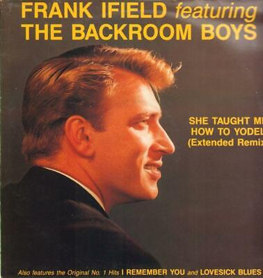 """Frank Ifield(12"""" Vinyl)She Taught Me How To Yodel-EMI-12 YODEL 1-UK-VG/Ex"""
