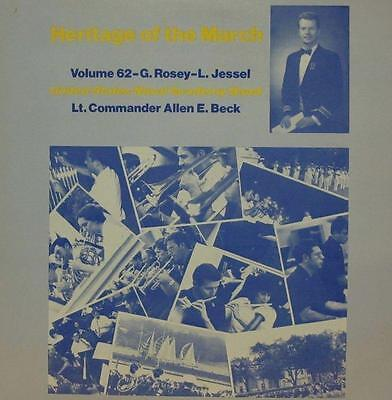 United States Naval Academy Band(Vinyl LP)Heritage Of The March: Volume 62-Ex/NM