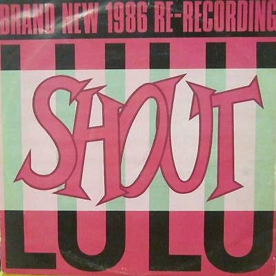 "LuLu(12"" Vinyl)Shout-JIVE-LULU T1-UK-VG/VG"