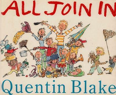All Join in(Hardback Book)Quentin Blake-VG