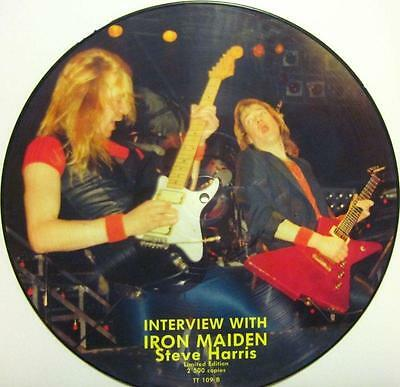 "Steve Harris(12""Vinyl Picture Disc)Interview With Iron Maiden-TT 109 -UK-Ex/Ex"