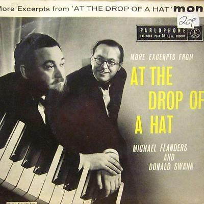 """Michael Flanders And Donald Swann(7"""" Vinyl P/S)More From At The Drop Of A Hat-Pa"""