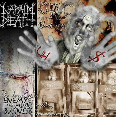 Napalm Death(CD Album)Enemy Of The Music Business+Leaders Not Followers-Secret-S